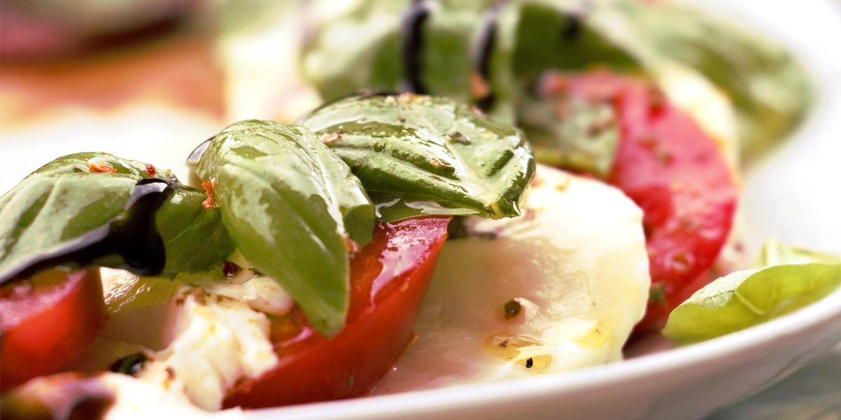 Ensalada de tomate y mozzarela